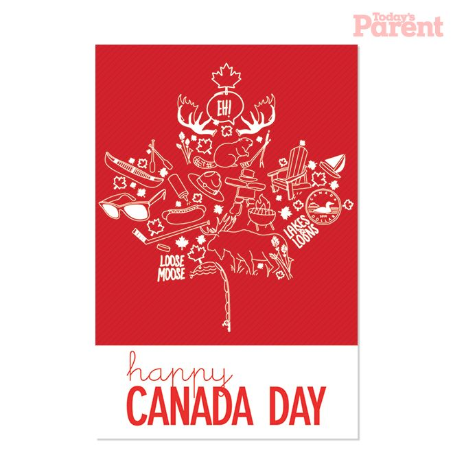 Canada Day Bbq Invitation Printable  Invitation Templates