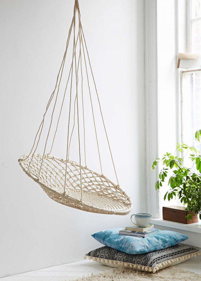 balancelle le fauteuil suspendu qu 39 on adore d coration pinterest fauteuil suspendu. Black Bedroom Furniture Sets. Home Design Ideas