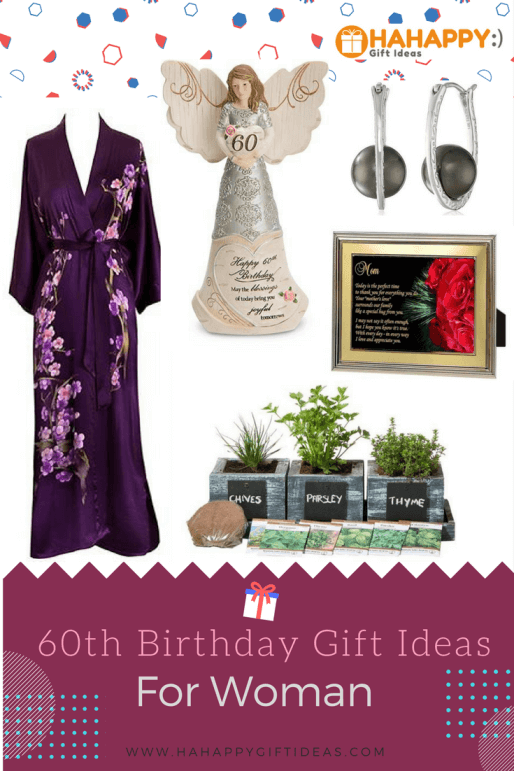 Thoughtful And Fabulous 60th Birthday Gift Ideas For Women Here Are