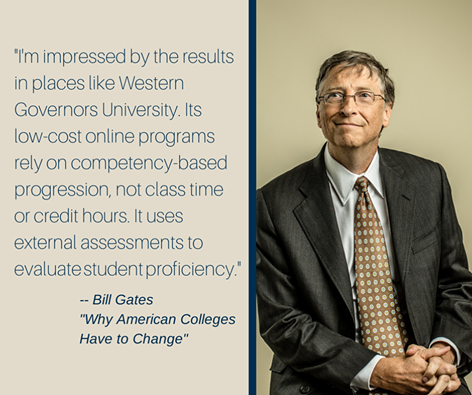 Thanks Bill Gates We Like You Too Online College Degrees College Degree Online University