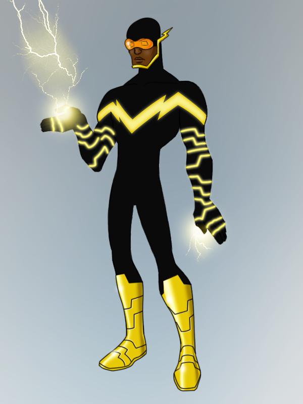 Black Vulcan Redesign By Payno0deviantartcom On At Deviantart Hero