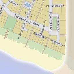 Town Map Rosemary Beach Rosemary Beach Map Beach