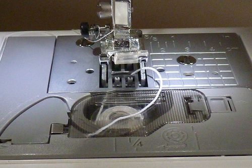 Shirring using elastic thread and a Brother with a drop in bobbin Magnificent Shirring On A Brother Sewing Machine