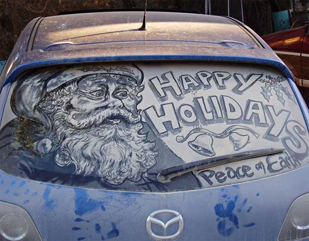No santa will not wash your car you have to do it yourself maybe no santa will not wash your car you have to do it yourself maybe if you had more pride in your car then you might have more respect for others solutioingenieria Choice Image