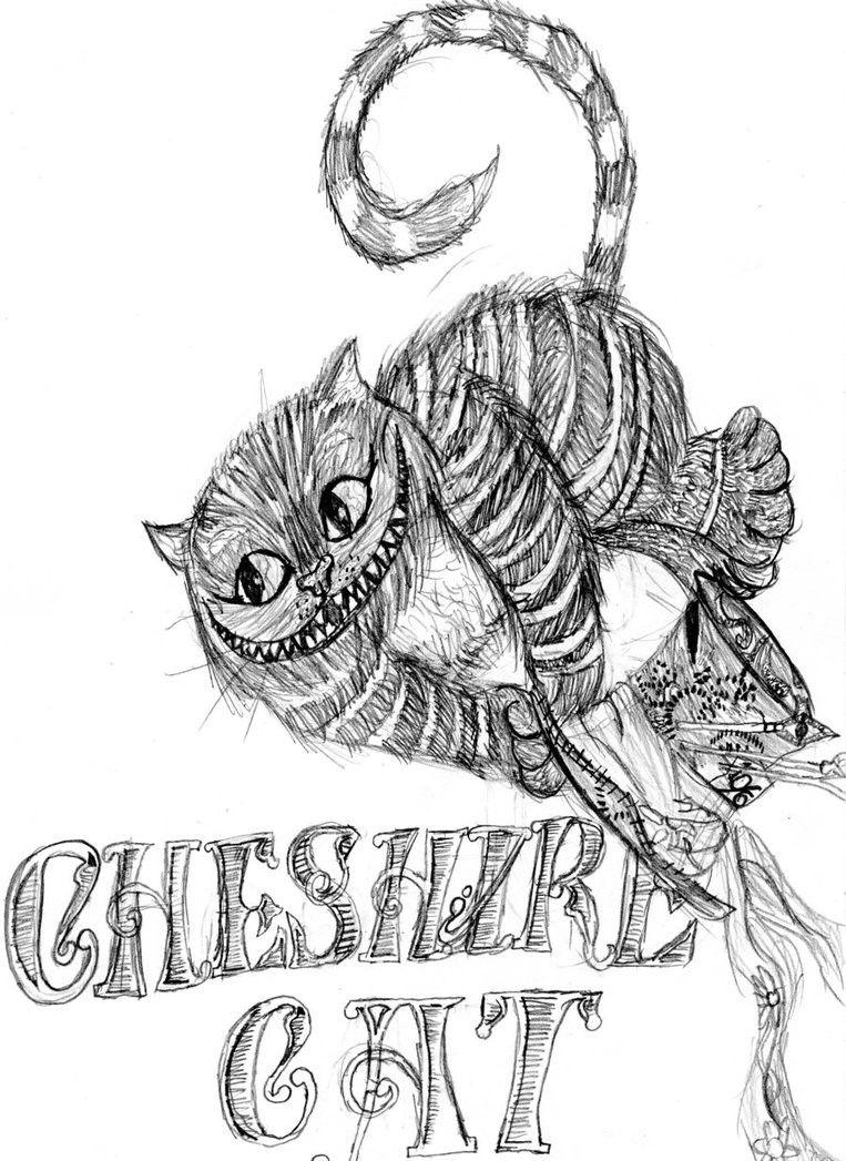 Cheshire Cat  Livre de couleur, Alice au pays des merveilles