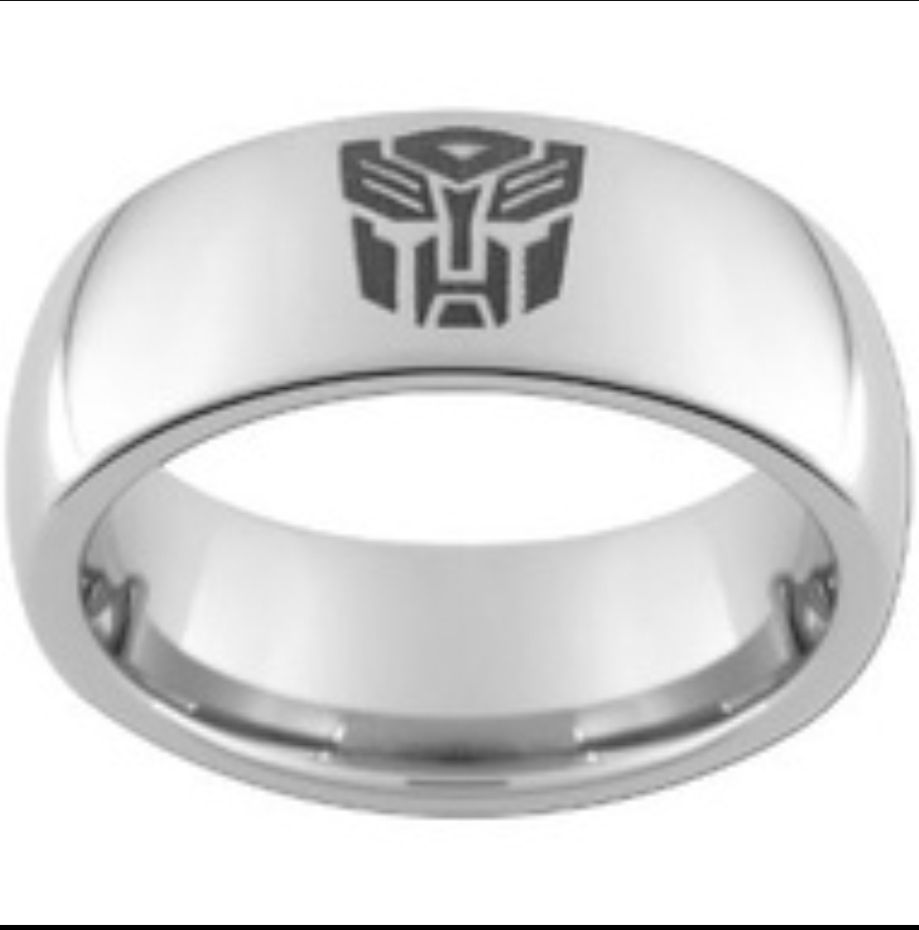Transformers Bands: Transformers Wedding Band I Don't Care If It's A Guy