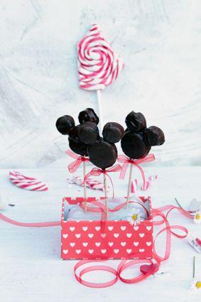 Mickey Mouse De Chocolate Para Hacer Con Ninos By La Cocina De