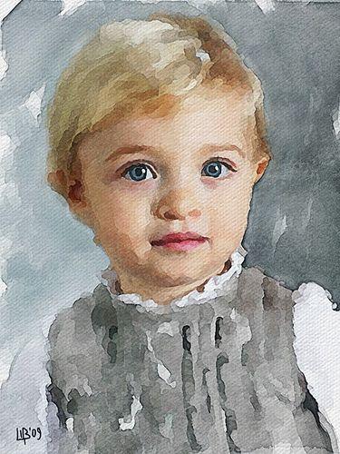 Boy | Digital watercolor Original photo i082.radikal.ru/0902… | Flickr