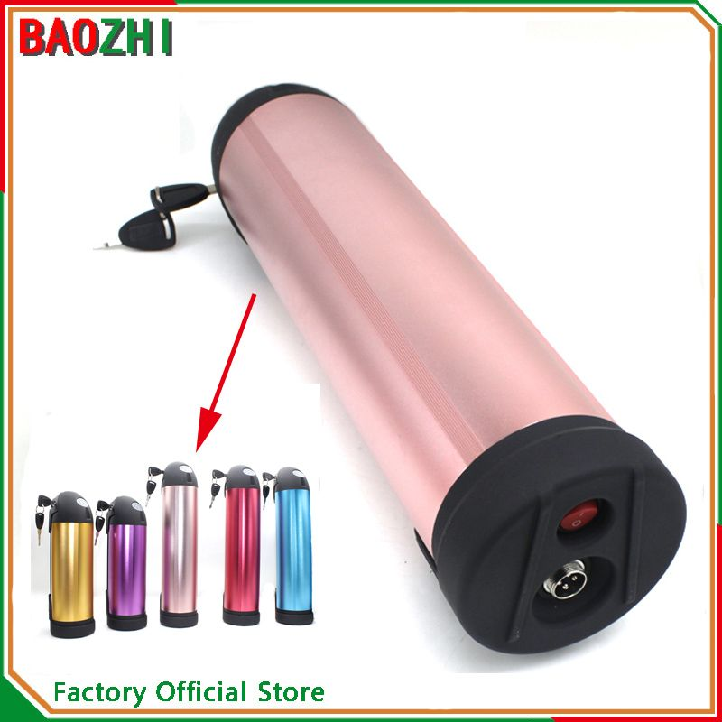 Powerful 48v 15ah Water Bottle Lithium Battery Pack For Electric Bike 18650 Samsung Cells With Charger For E Bike 4 E Bike Battery Battery Pack Lithium Battery