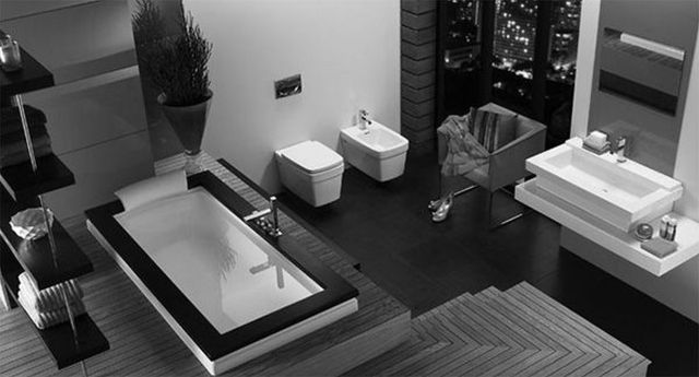 Salle de bain moderne - 30 idées originales espace de confort