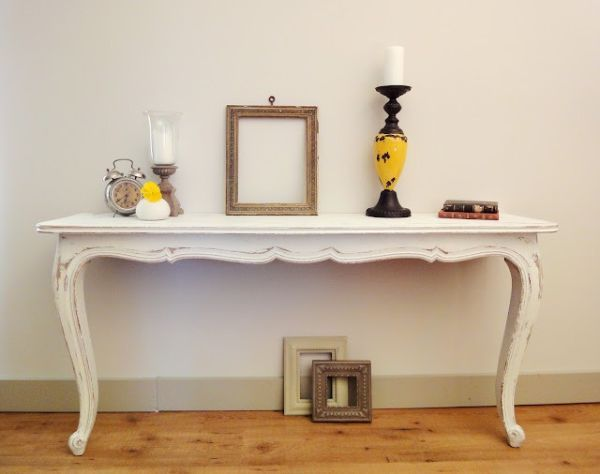 Half Table For Hallway creative and inspiring diy cut in half table designs   half table