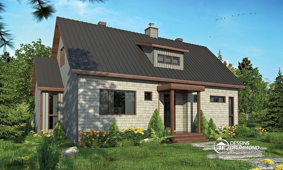 Détail du plan de Maison unifamiliale W3988 les belles maisons d