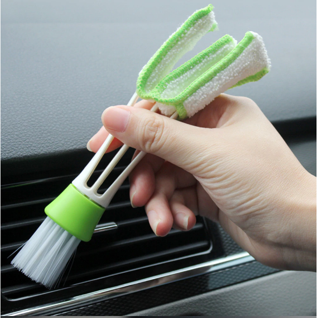 Double Ended Auto Car Air Conditioner Vent Outlet Cleaning