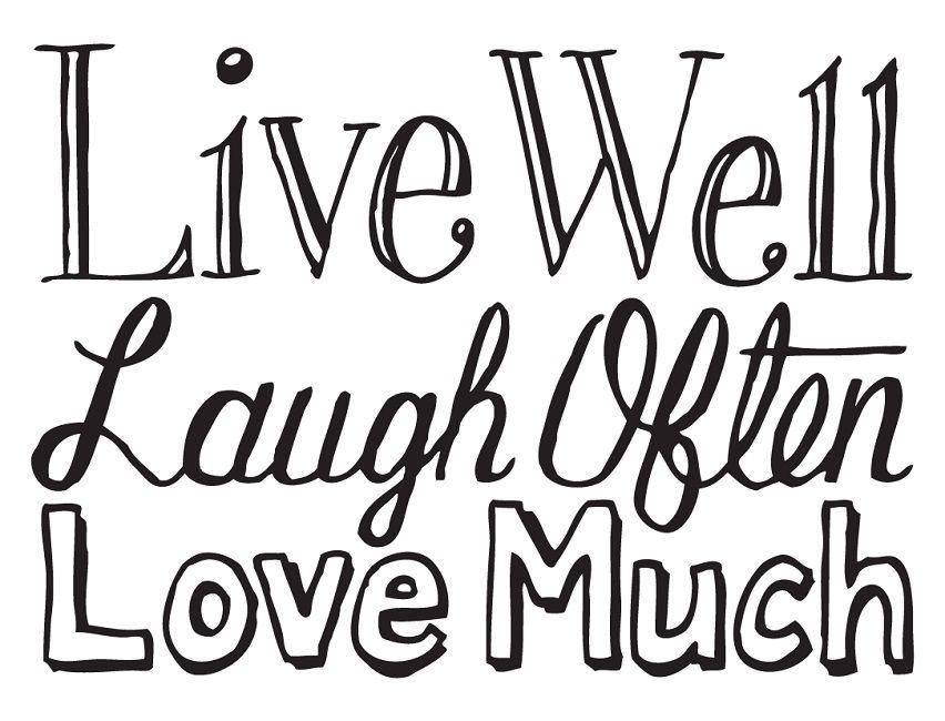 Gemütlich Live Lachen Liebe Malvorlagen Bilder - Druckbare ...