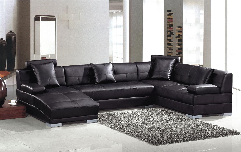 Divani Casa 3334 - Modern Leather Sectional Sofa | Modern Decoration ...