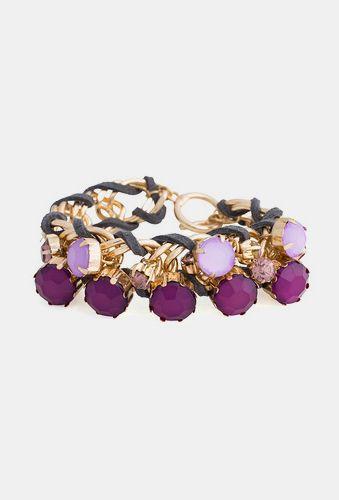 Plum Bauble Bracelet