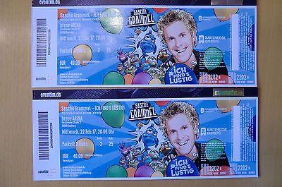 2 Top Tickets Sascha Grammel Ich Find S Lustig Bamberg 22 02 17 Parkett Sparen25 Com Sparen25 De Sparen25 Info Lustig Ebay Verschiedenes