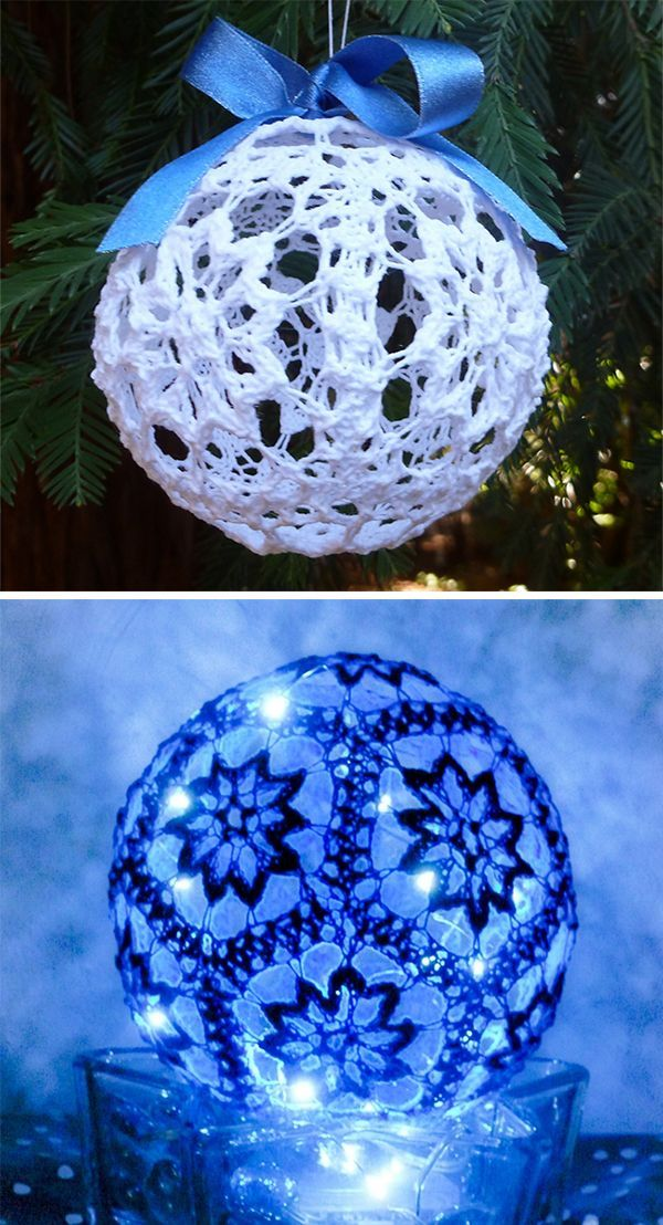 Free Knitting Pattern for Snowballicious Ornament ...