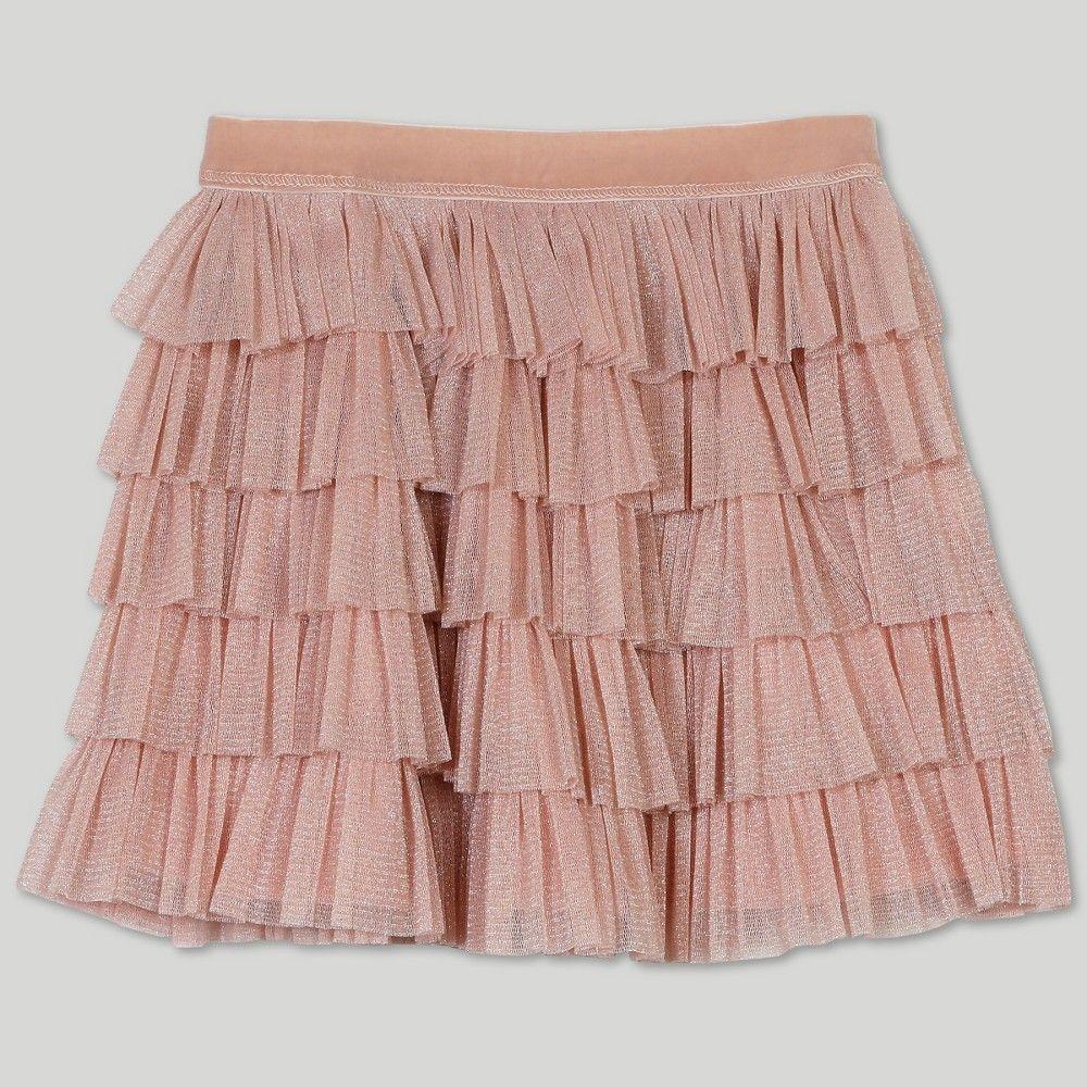 b323fff9a Afton Street Toddler Girls' Tiered Ruffle Skirt - Pink 18M ...