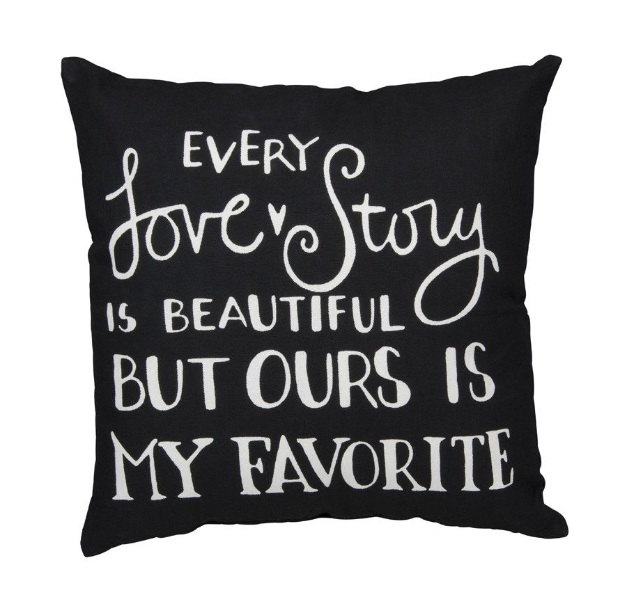 Every Love Story Accent Pillow Home ideas Pinterest Pillows