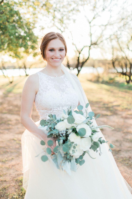 Wedding dress centerpiece  Dreamy Lush Greenery Wedding Inspiration  Neutral color palettes