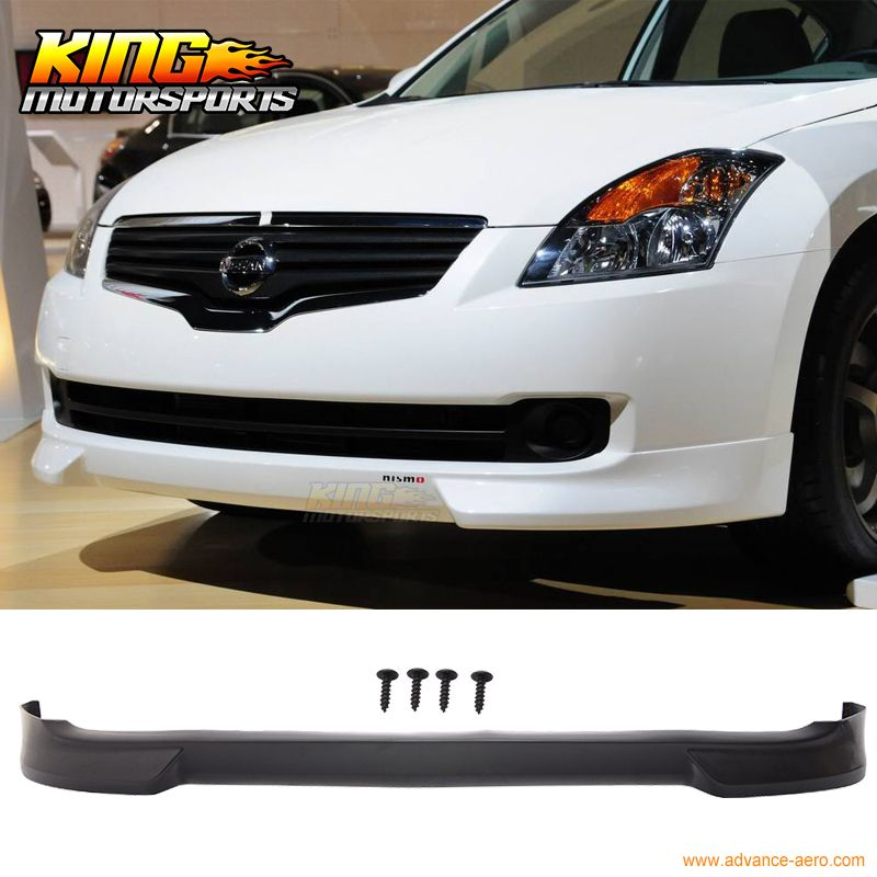 Nismo Spoiler For 07 09 Fit For Nissan Altima Front Bumper Lip Spoiler Urethane Nissan Altima Fender Flares Altima