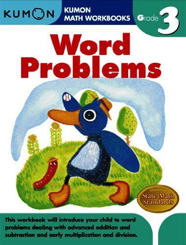 Word Problems (Kumon Math Workbooks Grade 3) | Favorite Places ...