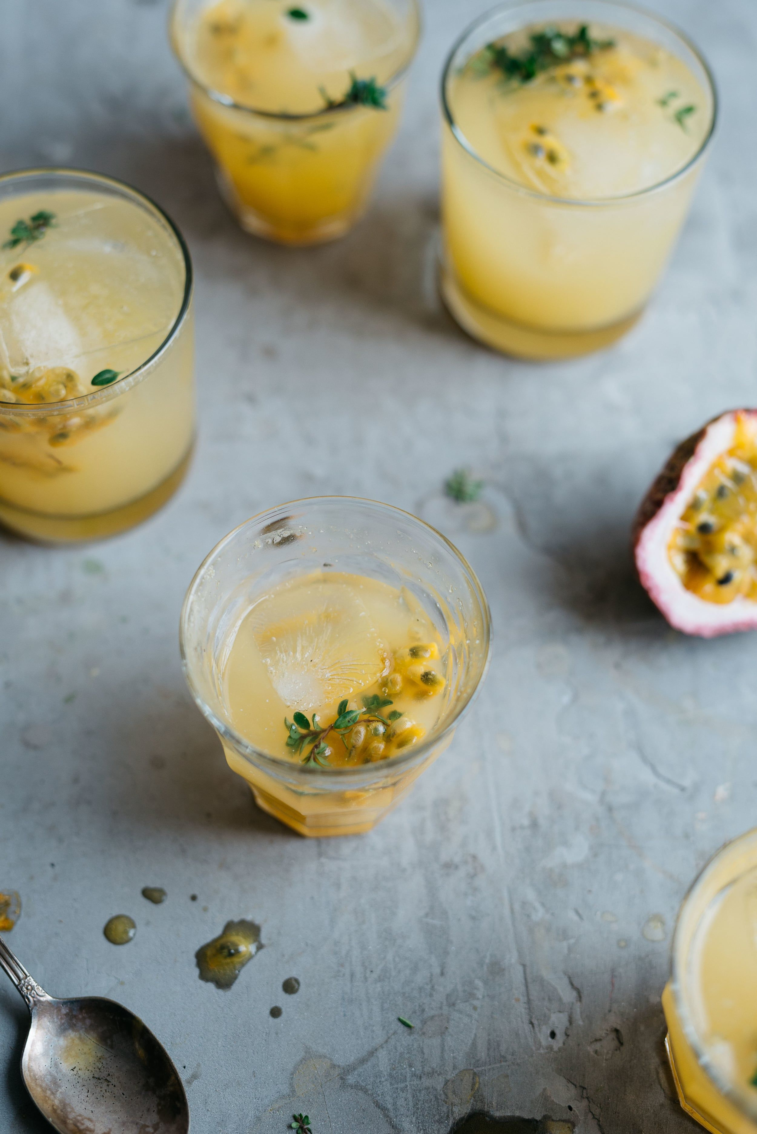 passion fruit + lemon-ginger fresca (and a giveaway, too!)