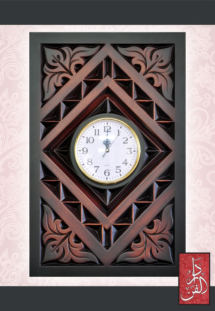 Pin by ahmed dahman on clocks reloj madera artesanal