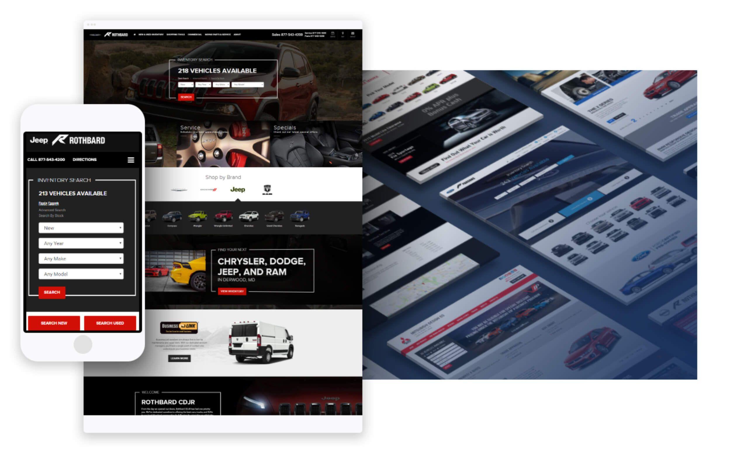 Industryleading car dealer websites, automotive SEO