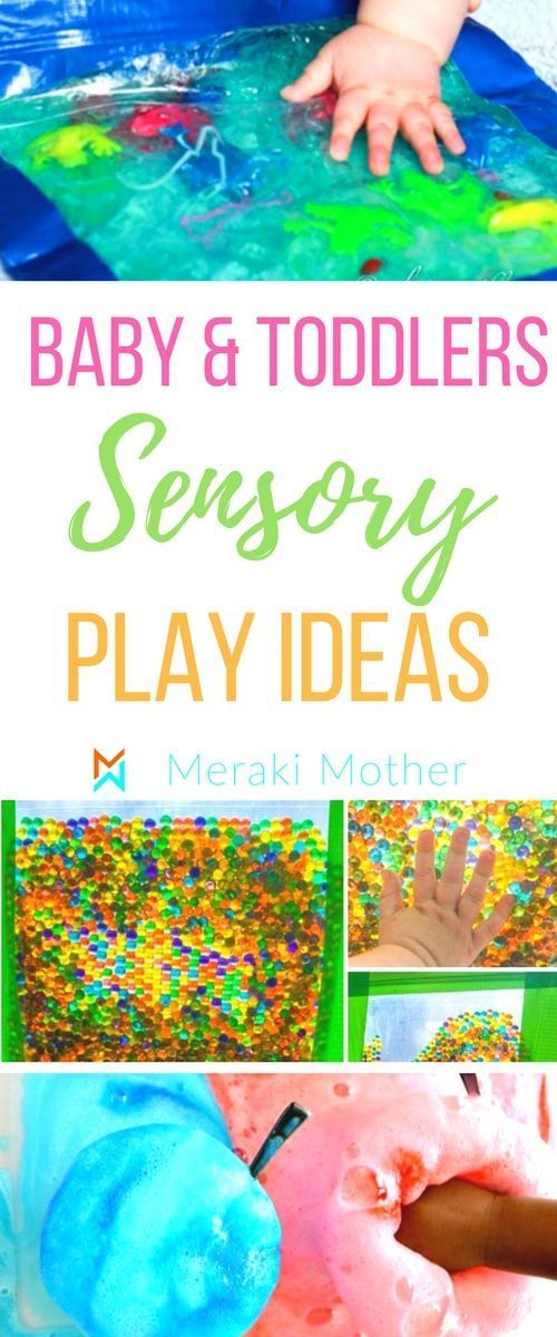 50 Affordable Sensory Play Activities for Childrens Brain Development Some of the best baby and toddlers sensory play ideas Check the blog post for more ideas sensory