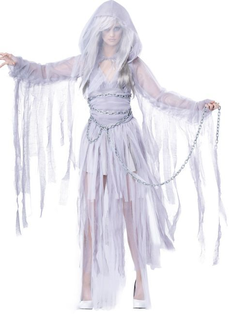 Adult Haunting Beauty Ghost Costume - Party City Costume Ideas - halloween ghost costume ideas