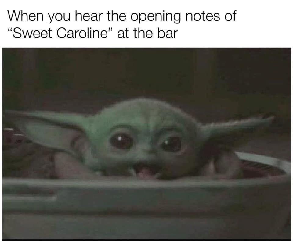 Sweeeeeeeet Carolineeeeeee R Babyyoda Baby Yoda In 2020 Yoda Meme Memes Funny Memes