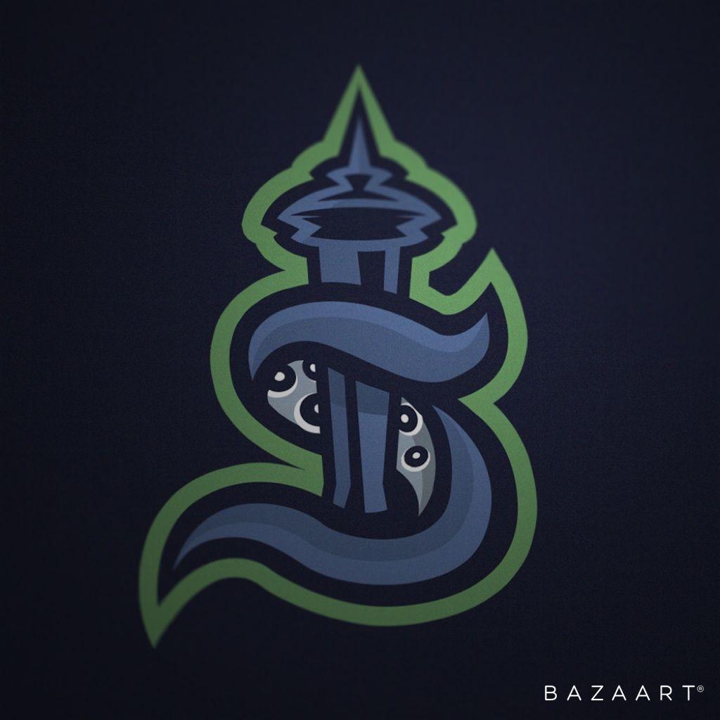 Pin By Benhawkey Yt On Nhl In 2020 Kraken Logo Kraken Book Art
