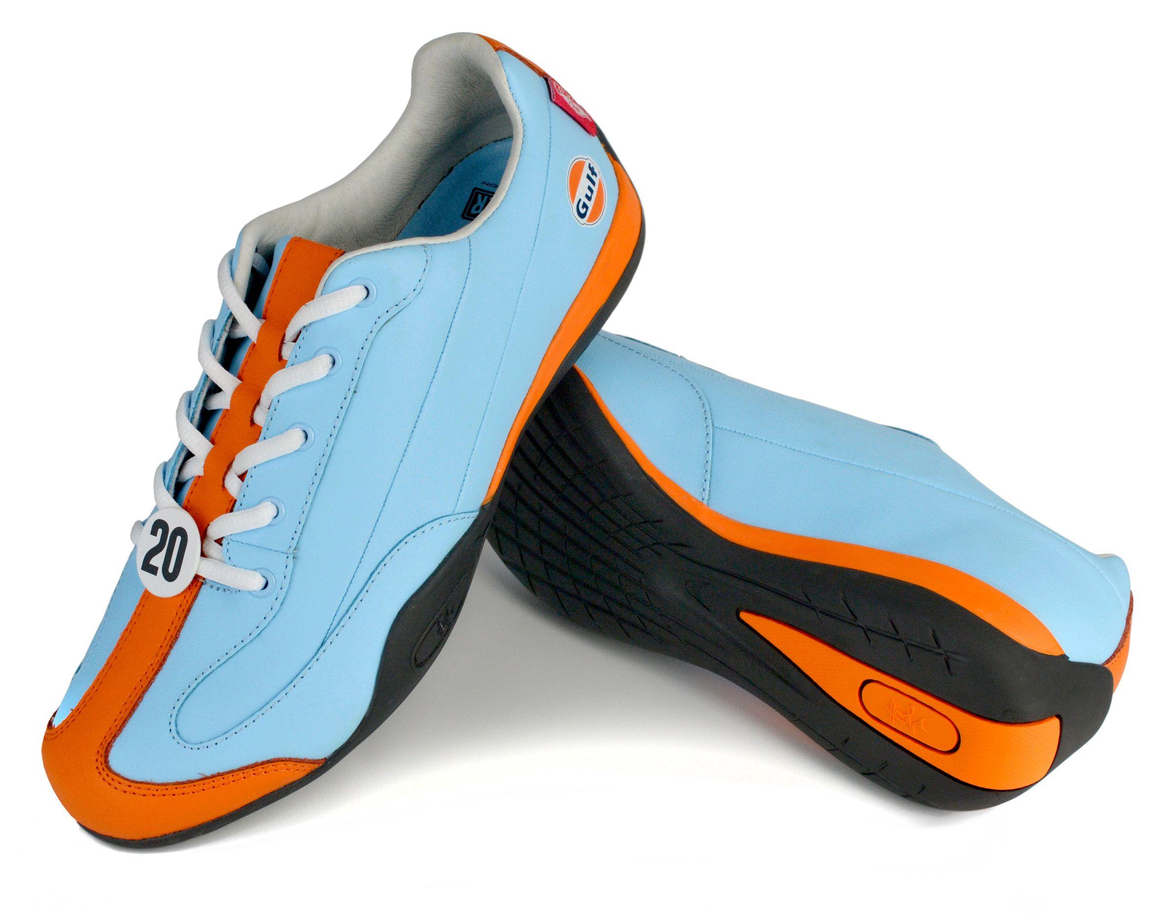 Racing shoes, Gulf racing