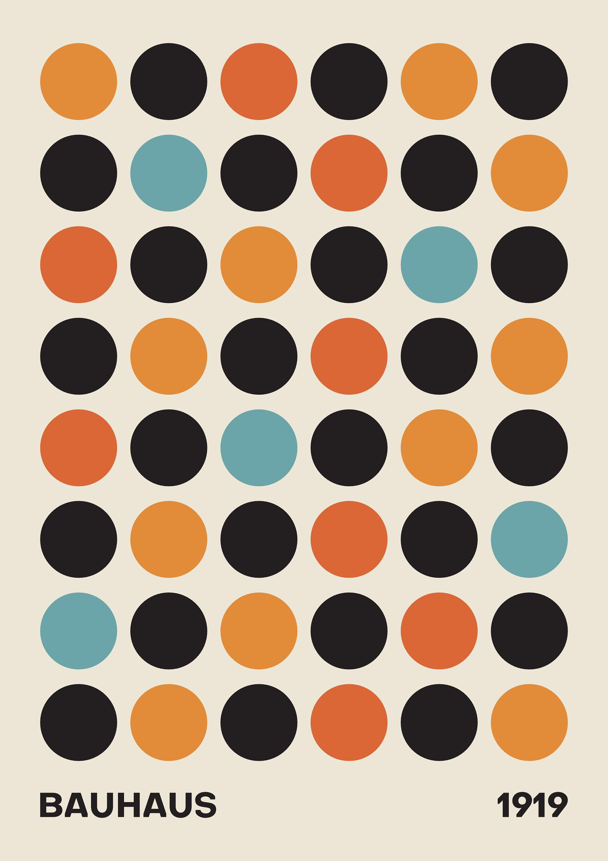 art print Bauhaus poster gallery wall home decor wall art contemporary poster high quality print