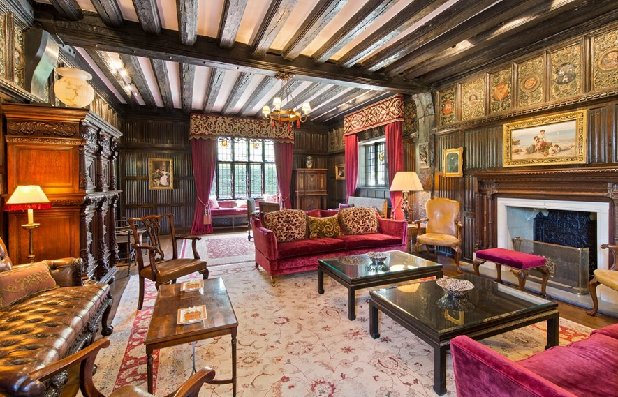 Living Room | English Manor House. | Pinterest | Mansion, Living ...
