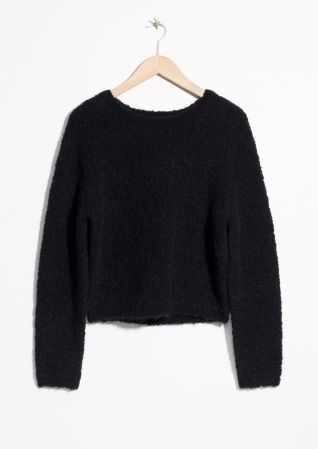 Other Stories Alpaca Fuzzy Sweater Spree In 2018 Pinterest