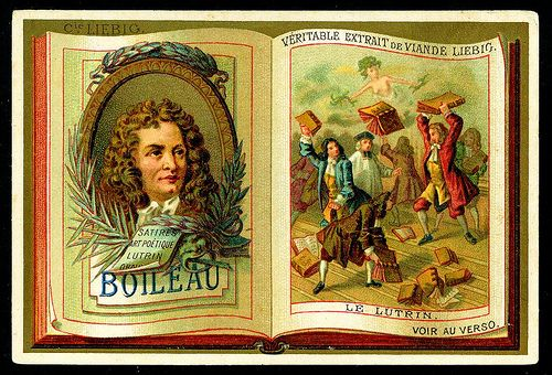 -S191- Classic French Authors. Belgian issue, 1887 // 1_Boileau