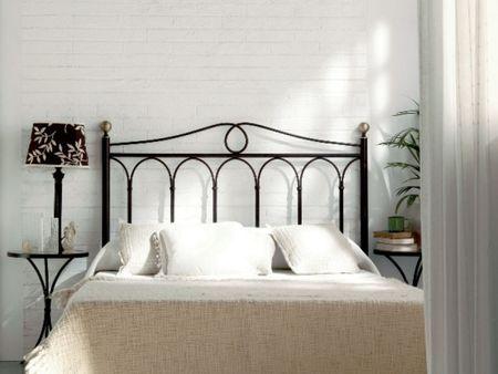 Tête de lit Rosa en fer forgé Meuble design pour la chambre Le - meuble en fer design