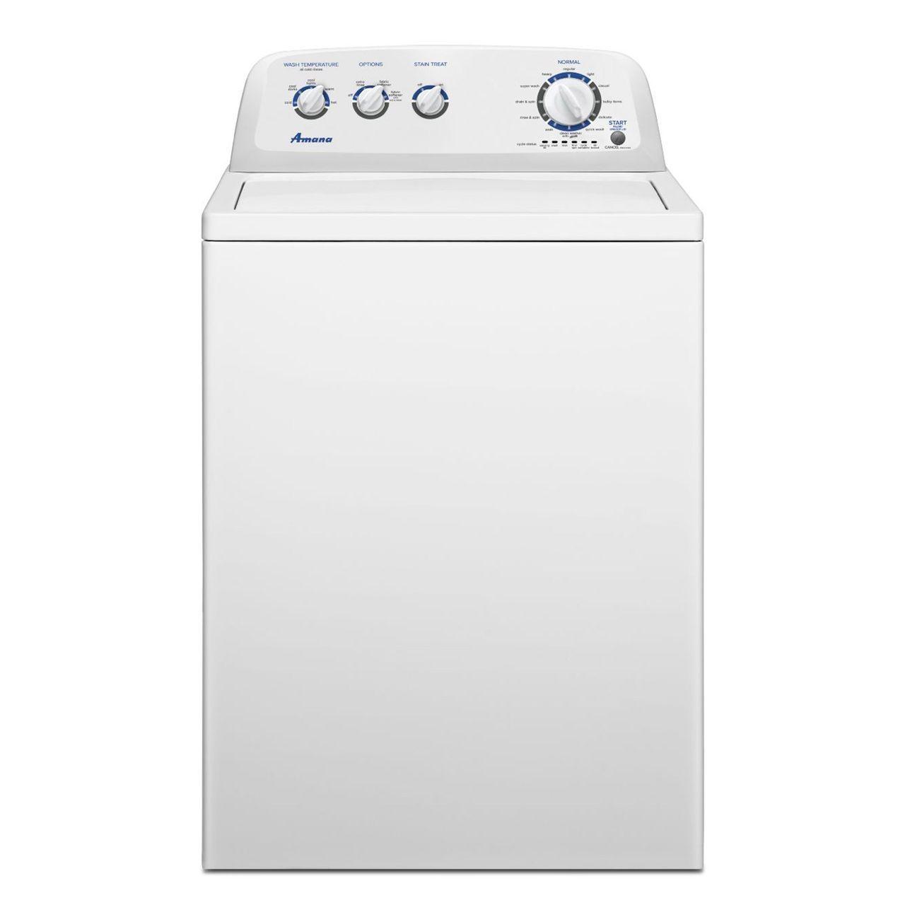 Amana 3 8 Cu Ft Washer Ntw4750bq Washer Washing Machine