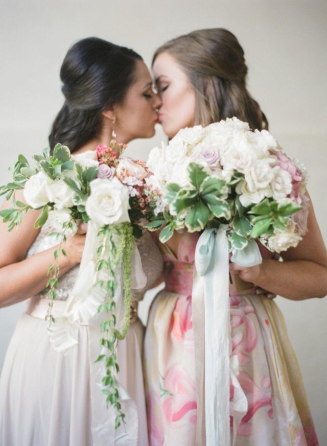 same sex marriage inspiration for spring wedding paper