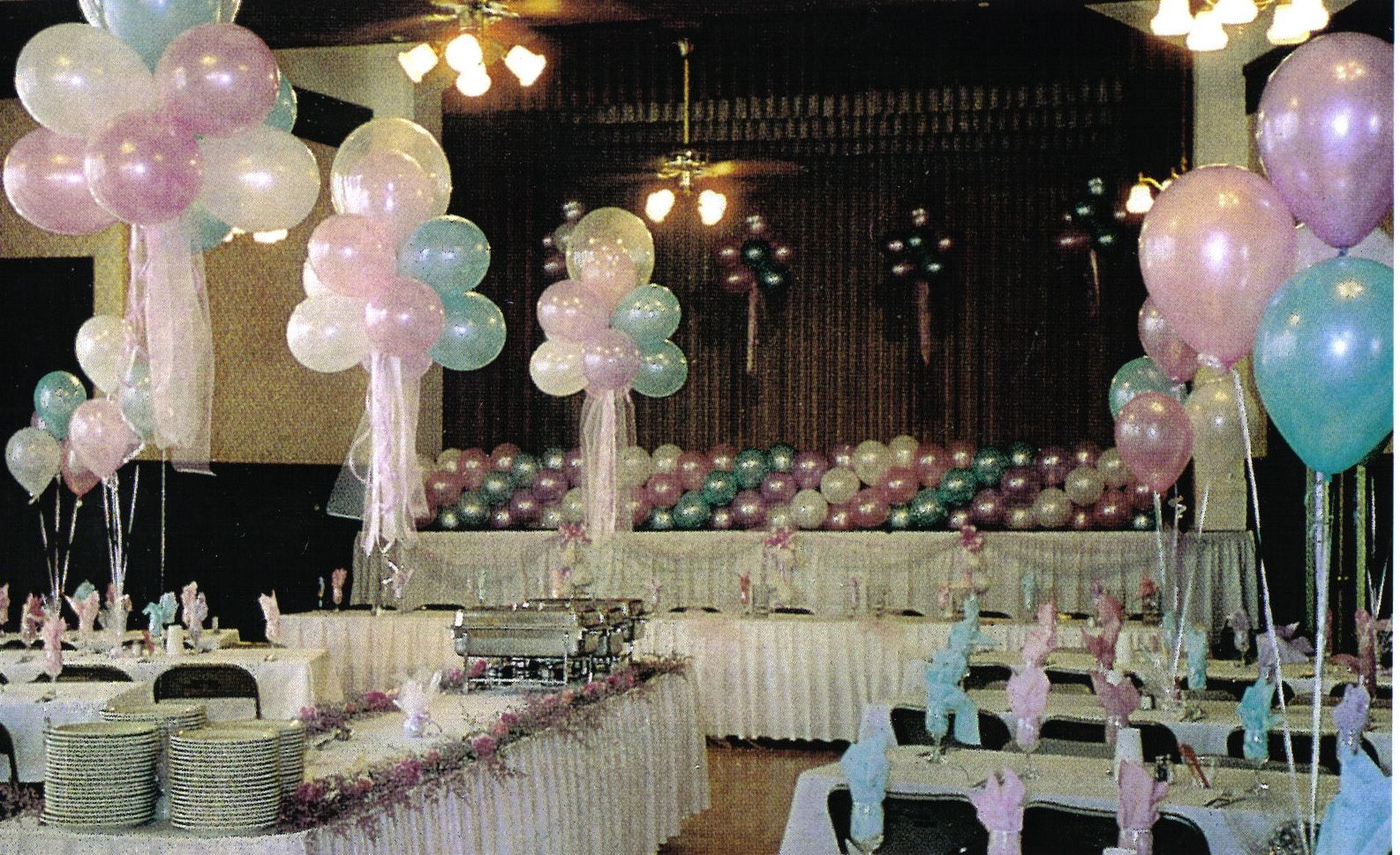 balloon decoration ideas balloon decorations for wedding and bridal showers balloon