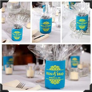 Wedding Favor Gift Table Display Favors Koozies