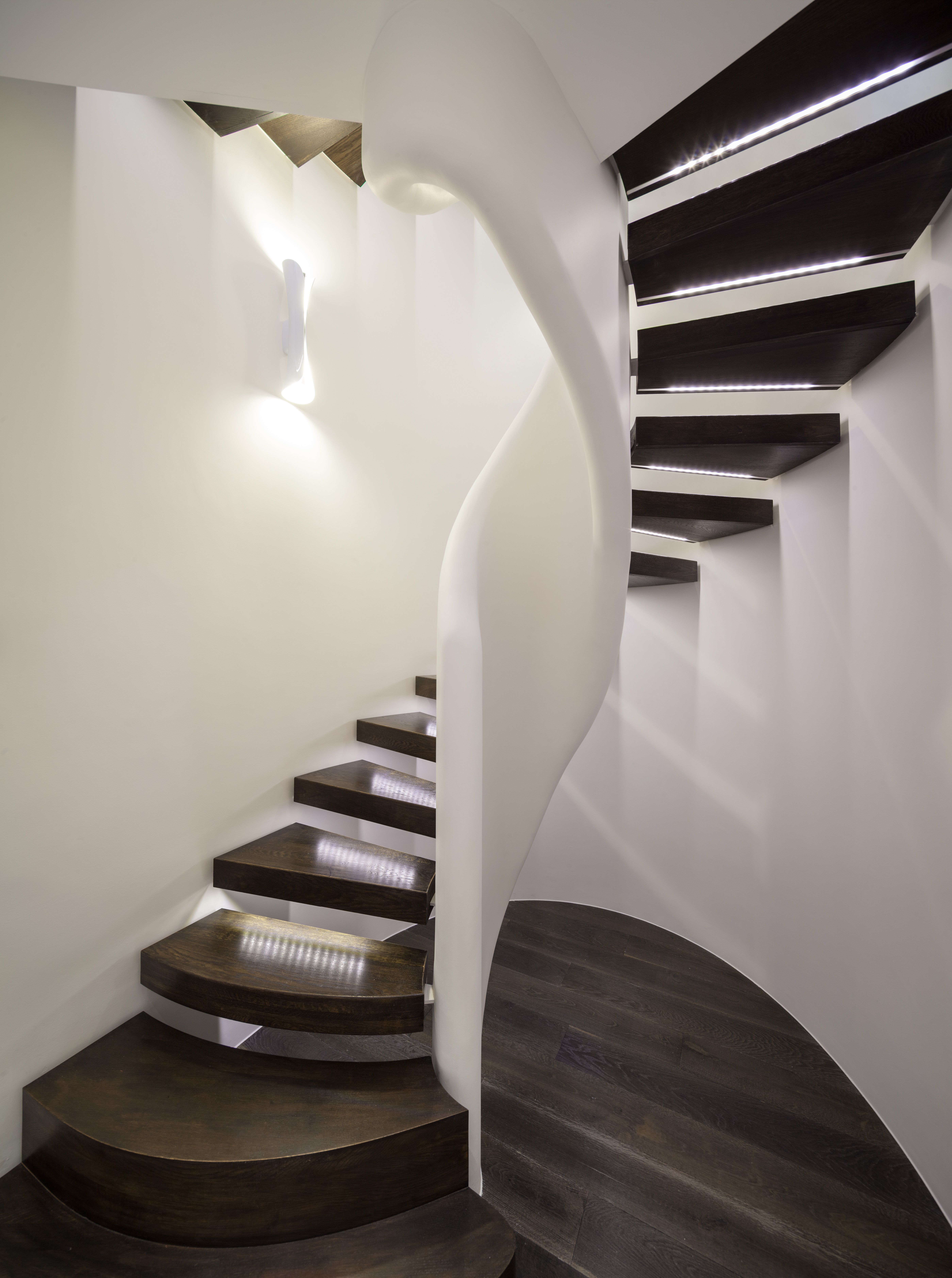 Peek Architecture Design Smith Terrace Chelsea Townhouse Oval Tags Custom Stair Builder Stairs Diagram Spiral