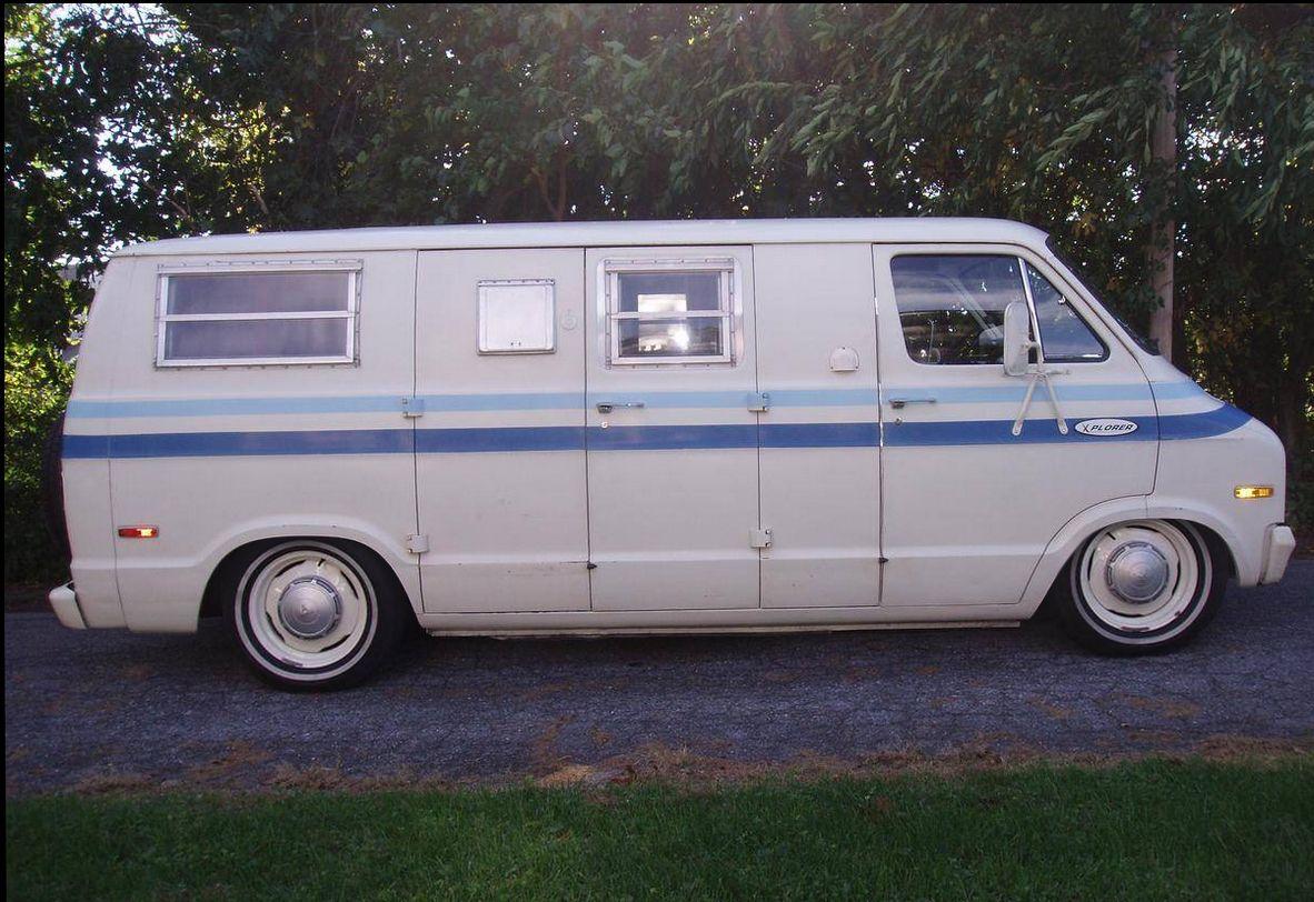 1974 Dodge Xplorer Camper Van | Welcome to Slamda Lamda