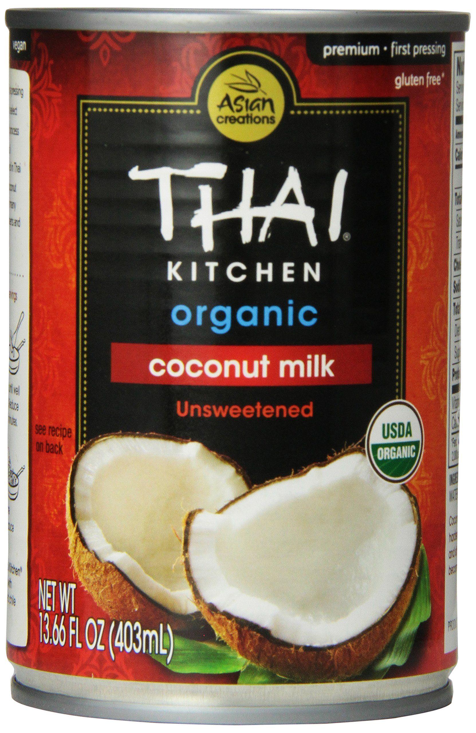 Thai Kitchen Coconut Milk Thai Kitchen Organic Coconut Milk Premium First Pressing 13.66