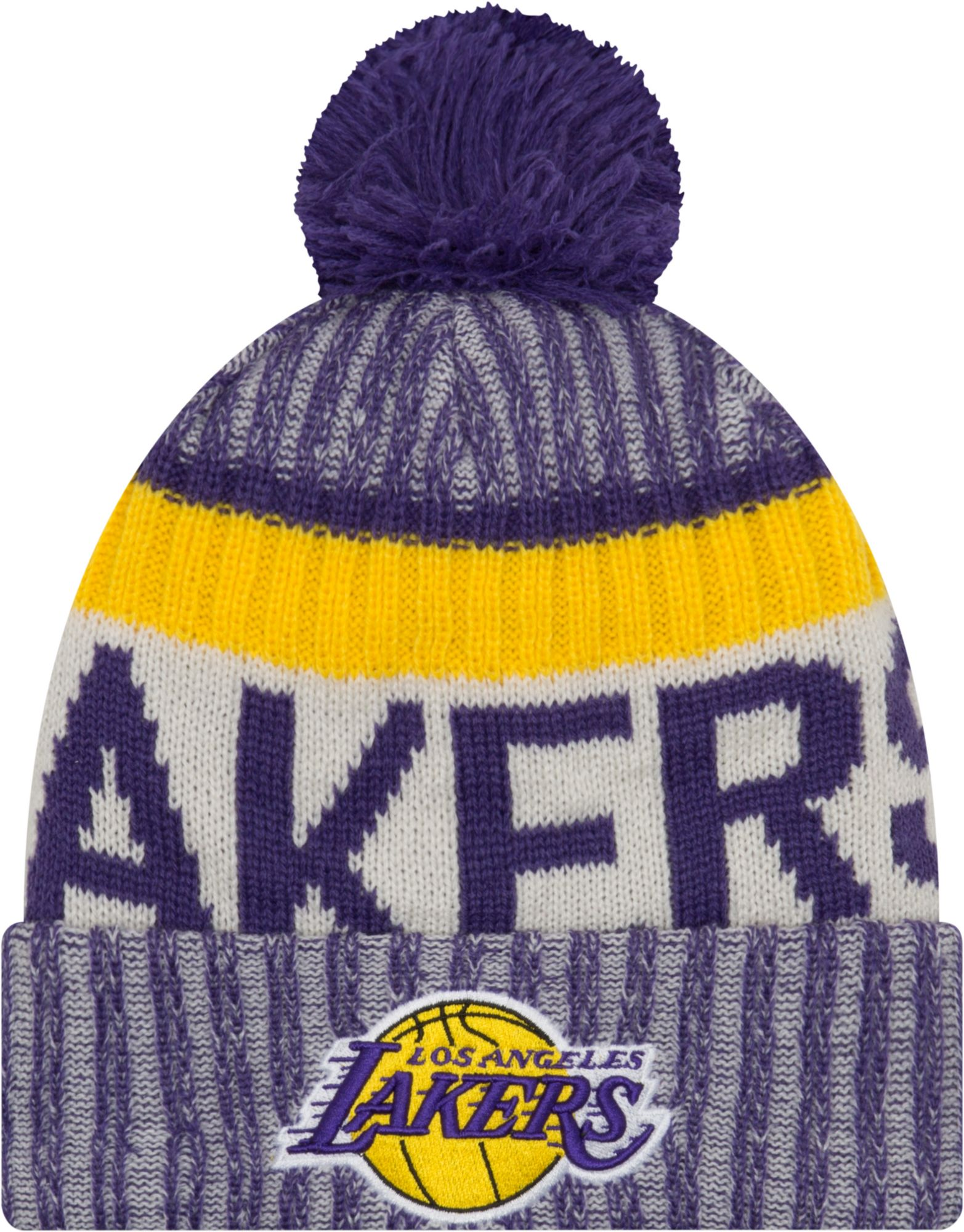 New Era Youth Los Angeles Lakers Knit Hat e5220d65799