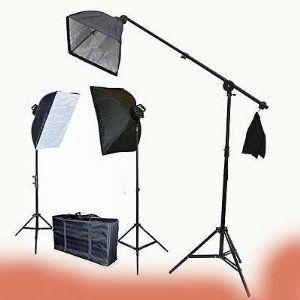 buy this! ePhoto 9026SB Video Photography Studio Light Lighting Kit Digital Photography Studio Video Light ChromaKey, 2275-Watt (Black)