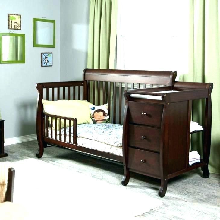 Baby Cribs With Changing Table Attached